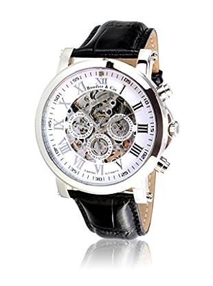 Boudier & Cie Reloj SK14H039 Blanco / Negro 43 mm