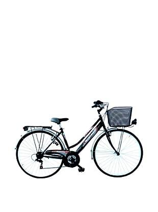 Girardengo Bicicleta Trekking Negro Única