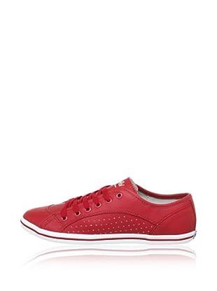 Buffalo 507- V9987 TUMBLE PU 144481 - Zapatillas de deporte  mujer (Rojo)