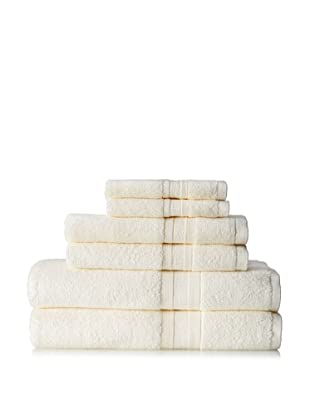 Terrisol MicroCotton Aertex 6-Piece Towel Set, Cameo
