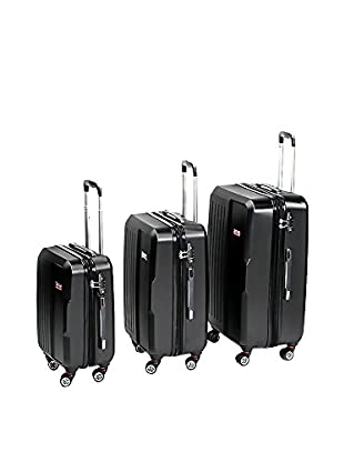 English Laundry 3-Piece ABS Trolley Case Set