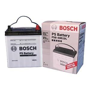 【クリックで詳細表示】Amazon.co.jp   BOSCH [ ボッシュ ] 国産車バッテリー [ PS Battery ] PSB-40B19L   車&バイク