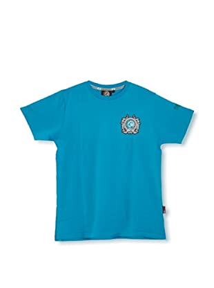 The Indian Face  Camiseta Perry (Azul Cian)