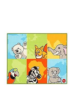 ABC Alfombra Trudi Animali Nel Mondo A.L. Multicolor