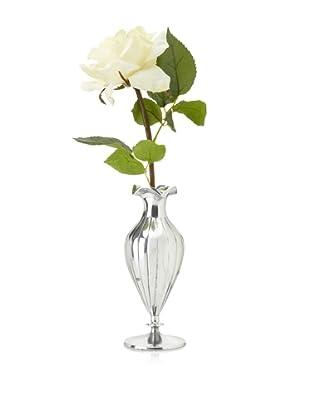 Winward Rose in Silver Vase