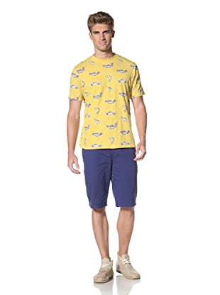 Under 2 Flags Men's Printed Knit Tee (Bamboo)