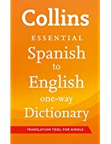 Collins Spanish to English Essential Dictionary (Collins Essential)