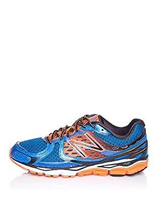 New Balance Zapatillas Running 1080 (Azul / Naranja)