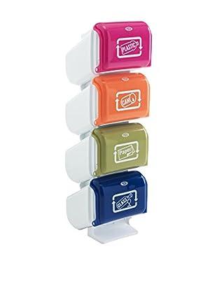 Tomasucci Cubo De Basura Pillar Multicolor