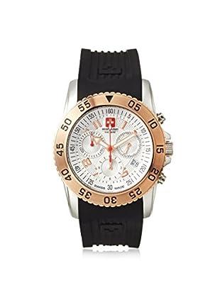 Swiss Military Calibre Men's 06-4C6G Black/White Rubber Watch