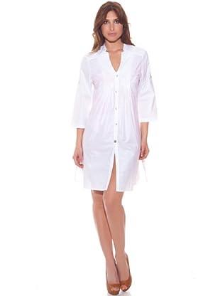 Ana Durán Vestido Playa Muguet (Blanco)