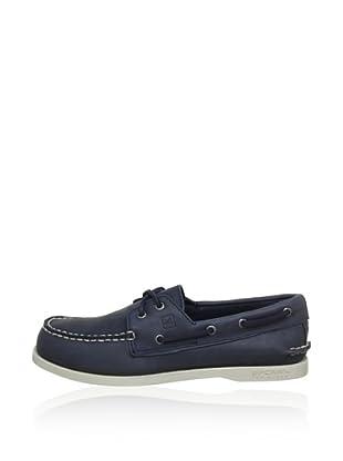 Zapatos Náuticos San Nazareno (Azul Marino)