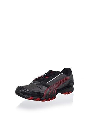Puma Men's Trace Mesh Running Shoe (Dark Shadow-Black-Te)