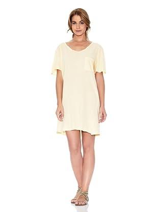 American Vintage Vestido Oversize (Amarillo)