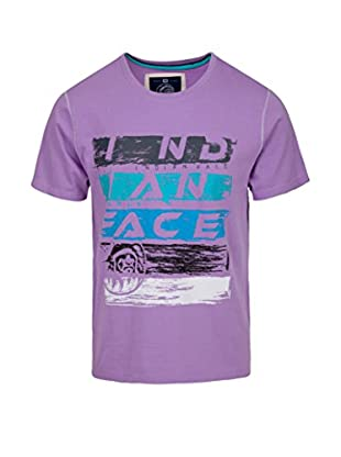 THE INDIAN FACE Camiseta Manga Corta Morado M