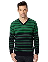 Allen Solly Vibrant Striped Sweater