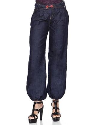 Desigual Pantalón Ali (azul oscuro)