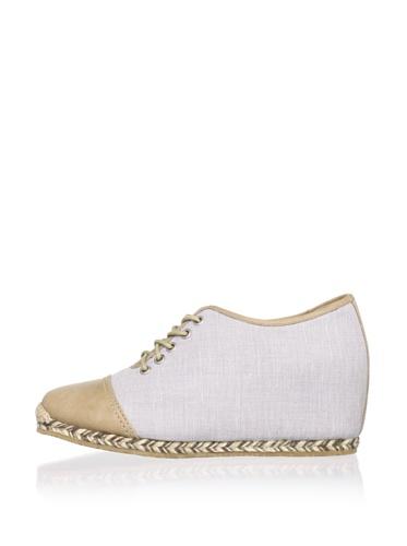 Charlotte Ronson Women's Fannie Sneaker (Grey/Taupe)