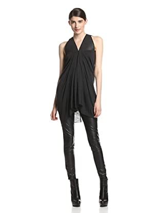 Rick Owens Lilies Women's Combo Top (Anthracite)
