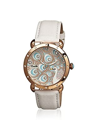 Bertha Women's BR3806 Genevieve White/Multicolor Leather Watch
