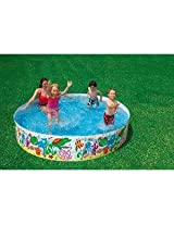 Intex Kids Swimming Pool 8 Feet - Non-Inflatable