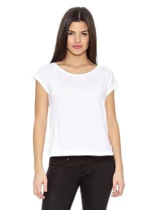 Springfield Camiseta T Espalda Cruzada (Blanco)