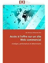 Acces A L Offre Sur Un Site Web Commercial (Omn.Univ.Europ.)