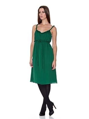 Caramelo Vestido Fiesta (Verde)