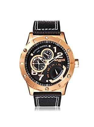 Lancaster Men's OLA0657R/BK/NR/MR Incursore Chrono Gent Brown/Black Stainless Steel Watch