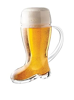Final Touch Das Beer 23.6-Oz. Boot Glasses