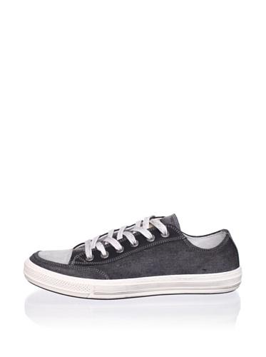 Antony Morato Men's Cap Toe Sneaker (Black)