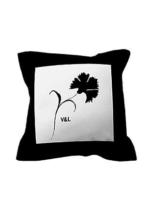 Victorio&Lucchino Federe Cuscino 60X60 Clavel (bianco/nero)