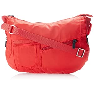 Fastrack Polyester Red Sling Bag (A0333NRD01)