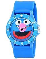 "Sesame Street Unisex SW4920GR ""Grover Sport"" Blue Slap Watch"