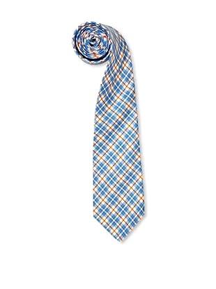 Olimpo Corbata Cuadros (Azul)