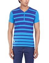 Freecultr Men's Cotton Henley T-Shirt