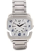 Fastrack Speed Racer Analog Watch - For Men Silver - 3079SM01
