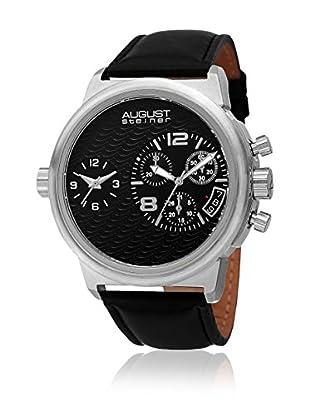 August Steiner Uhr mit schweizer Quarzuhrwerk Man AS8151SSB 51 mm