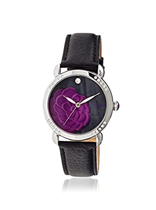 Bertha Women's BR4603 Daphne Black Leather Watch