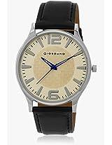 5327-P932 Black/White Analog Watch Giordano