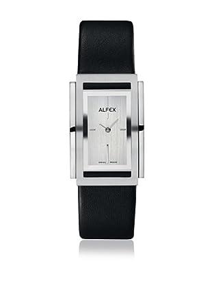 Alfex Quarzuhr 26 mm Schwarz