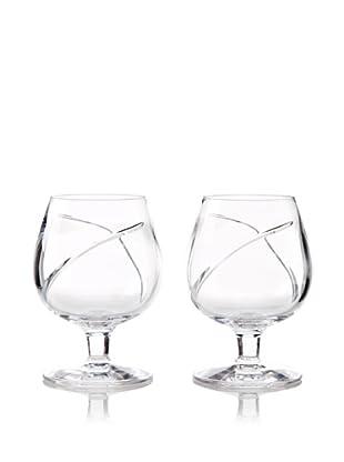 Waterford Pair of Siren Brandy Snifters