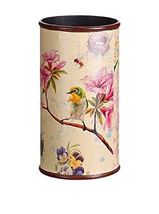 Romantic Style Paragüero Birds Multicolor
