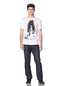 MG Black Label Men's Traces Graphic Tee (White)