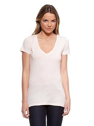 Timeout Camiseta Pico (Crema)