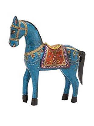 Wood Painted Horse