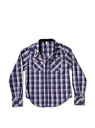 New Caro Camisa Cuadros Niño (Violeta)