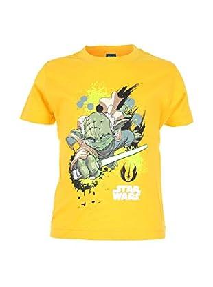 Star Wars T-Shirt Yoda Light Sabre