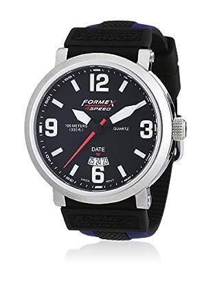 Formex 4 Speed Quarzuhr Ts725 schwarz/blau 46 mm