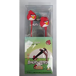 ANGRY BIRD EARPHONE